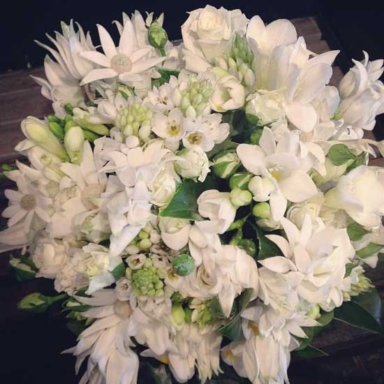 White and Green <br> Arrangement